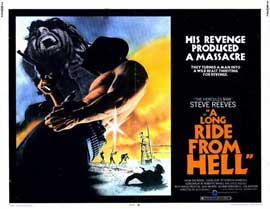Long Ride from Hell - 11 x 14 Movie Poster - Style A