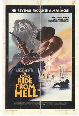 Long Ride from Hell - 11 x 17 Movie Poster - Style A