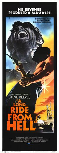 Long Ride from Hell - 14 x 36 Movie Poster - Insert Style A