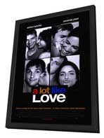 A Lot Like Love - 27 x 40 Movie Poster - Style A - in Deluxe Wood Frame
