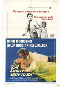Lovely Way to Die - 27 x 40 Movie Poster - Style A