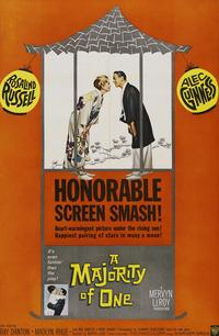Majority of One - 43 x 62 Movie Poster - Bus Shelter Style A