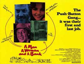 A Man, a Woman, and a Bank - 11 x 14 Movie Poster - Style A