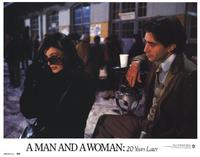 A Man and a Woman: 20 Years Later - 11 x 14 Movie Poster - Style B