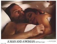 A Man and a Woman: 20 Years Later - 11 x 14 Movie Poster - Style C