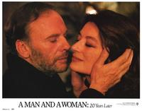 A Man and a Woman: 20 Years Later - 11 x 14 Movie Poster - Style F