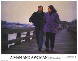 A Man and a Woman: 20 Years Later - 11 x 14 Movie Poster - Style G