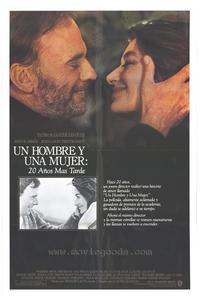A Man and a Woman: 20 Years Later - 27 x 40 Movie Poster - Spanish Style A