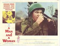 Man and a Woman, A - 11 x 14 Movie Poster - Style E