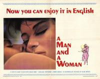 Man and a Woman, A - 11 x 17 Movie Poster - Style A