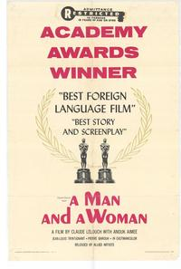 Man and a Woman, A - 27 x 40 Movie Poster - Style B