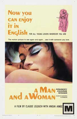 Man and a Woman, A - 27 x 40 Movie Poster - Style A
