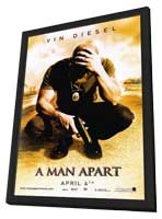 A Man Apart - 11 x 17 Movie Poster - Style A - in Deluxe Wood Frame