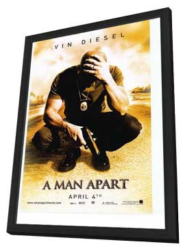 A Man Apart - 27 x 40 Movie Poster - Style A - in Deluxe Wood Frame