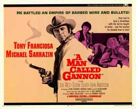 Man Called Gannon - 11 x 14 Movie Poster - Style A