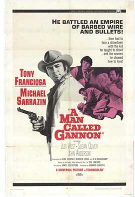 Man Called Gannon - 11 x 17 Movie Poster - Style A