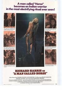 A Man Called Horse - 43 x 62 Movie Poster - Bus Shelter Style A