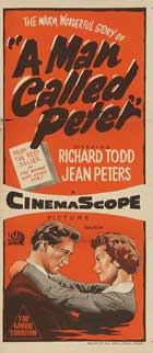 A Man Called Peter - 13 x 30 Movie Poster - Australian Style A