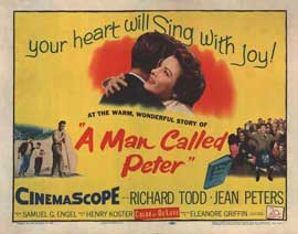 A Man Called Peter - 22 x 28 Movie Poster - Half Sheet Style A