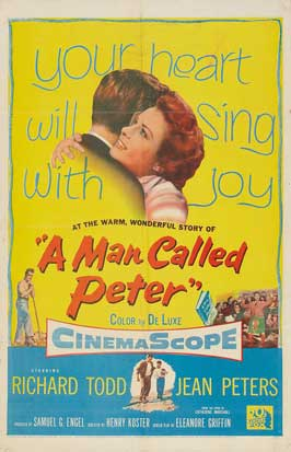 A Man Called Peter - 27 x 40 Movie Poster - Style A