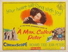 A Man Called Peter - 22 x 28 Movie Poster - Half Sheet Style B