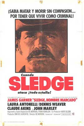 A Man Called Sledge - 11 x 17 Movie Poster - Spanish Style A