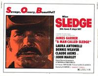 A Man Called Sledge - 11 x 14 Movie Poster - Style A