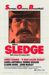 A Man Called Sledge - 11 x 17 Movie Poster - Style A