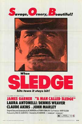 A Man Called Sledge - 27 x 40 Movie Poster - Style B