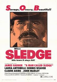 A Man Called Sledge - 43 x 62 Movie Poster - Bus Shelter Style A