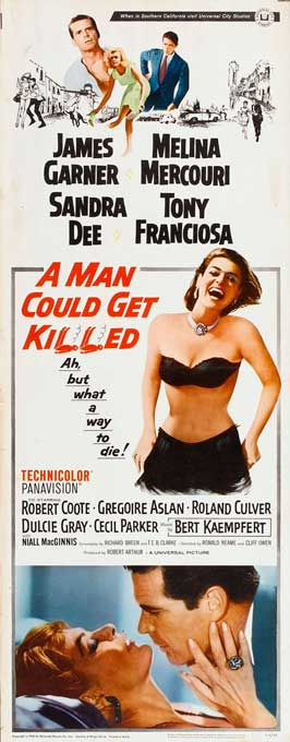 Man Could Get Killed - 14 x 36 Movie Poster - Insert Style A
