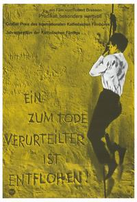 A Man Escaped - 27 x 40 Movie Poster - German Style A