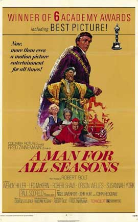 A Man for All Seasons - 11 x 17 Movie Poster - Style A