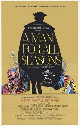 A Man for All Seasons - 11 x 17 Movie Poster - Style B
