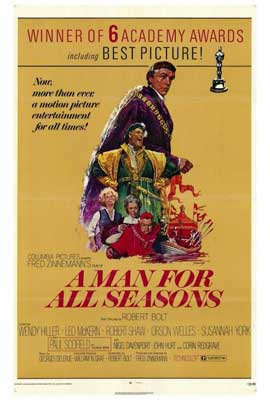 A Man for All Seasons - 27 x 40 Movie Poster - Style A