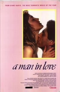 A Man in Love - 27 x 40 Movie Poster - Style B
