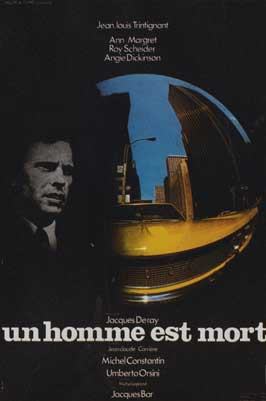 A Man Is Dead - 11 x 17 Movie Poster - French Style A