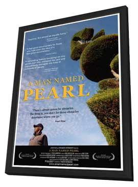 A Man Named Pearl - 11 x 17 Movie Poster - Style A - in Deluxe Wood Frame