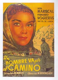 A Man on the Road - 11 x 17 Movie Poster - Spanish Style A
