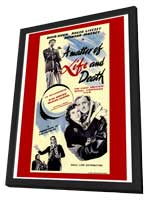 A Matter of Life and Death - 27 x 40 Movie Poster - Style A - in Deluxe Wood Frame