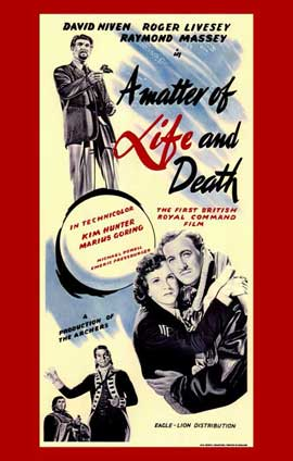 A Matter of Life and Death - 11 x 17 Movie Poster - Style A