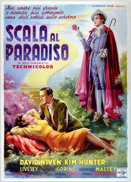 A Matter of Life and Death - 11 x 17 Movie Poster - Italian Style A