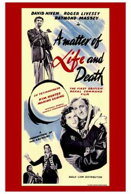 A Matter of Life and Death - 27 x 40 Movie Poster - Style A