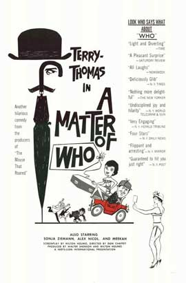 A Matter of WHO - 11 x 17 Movie Poster - Style A