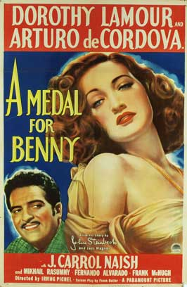 A Medal for Benny - 27 x 40 Movie Poster - Style A