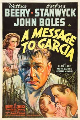 A Message to Garcia - 27 x 40 Movie Poster - Style A