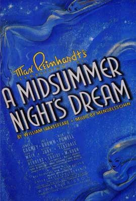 A Midsummer Night's Dream - 27 x 40 Movie Poster - Style A