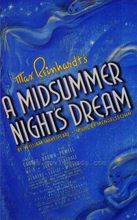 A Midsummer Night's Dream - 43 x 62 Movie Poster - Bus Shelter Style A