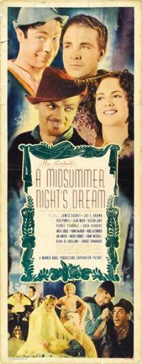 A Midsummer Night's Dream - 14 x 36 Movie Poster - Insert Style A