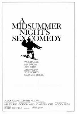 A Midsummer Night's Sex Comedy - 27 x 40 Movie Poster - Style A